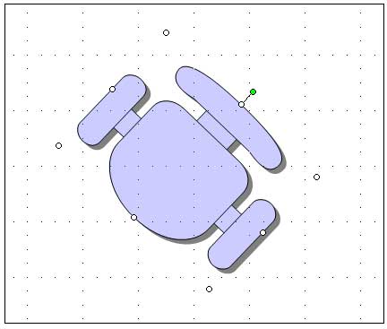 Draft A Cad Drawing Using Ms Powerpoint Windows Xp